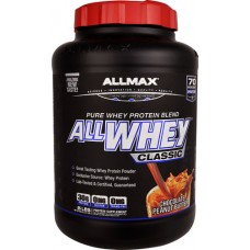 ALLMAX Nutrition ALLWHEY® CLASSIC Pure Whey Protein Blend Chocolate Peanut Butter -- 5 lbs