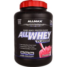 ALLMAX Nutrition ALLWHEY® CLASSIC Pure Whey Protein Blend Strawberry -- 5 lbs