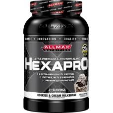 ALLMAX Nutrition Hexapro™ Cookies & Cream Milkshake -- 3 lbs