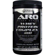 ARO-Vitacost Black Series Whey Protein Complex PLUS Chocolate Peanut Butter -- 2 lb (908 g)
