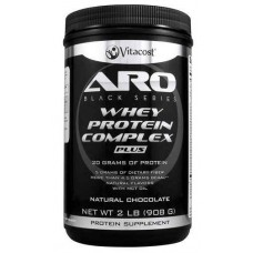 ARO-Vitacost Black Series Whey Protein Complex PLUS Natural Chocolate -- 2 lb (908 g)