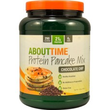 About Time Protein Pancake Mix Chocolate Chip -- 1.5 lbs