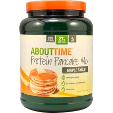 About Time Protein Pancake Mix Maple Syrup -- 1.5 lbs