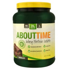 About Time Whey Protein Isolate Chocolate -- 2 lbs