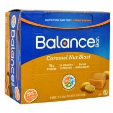 Balance Bar Nutrition Bar Caramel Nut Blast -- 6 Bars