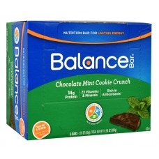Balance Bar Nutrition Bar Chocolate Mint Cookie Crunch -- 6 Bars