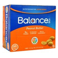 Balance Bar Nutrition Bar Peanut Butter -- 6 Bars