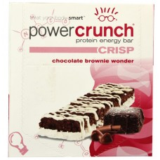 BioNutritional Research Group Power Crunch Protein Energy Bar Chocolate Brownie Wonder -- 12 Bars