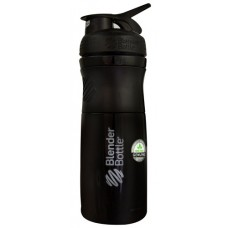 BlenderBottle SportsMixer™ Tritan Grip Black and Black -- 28 oz
