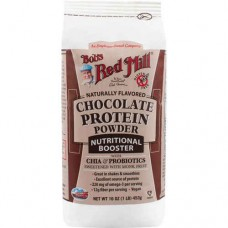 Bob's Red Mill Protein Powder Nutritional Booster Chocolate -- 16 oz