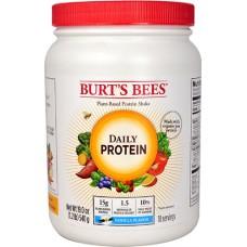 Burt's Bees Plant-Based Daily Protein Shake Vanilla -- 19 oz