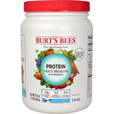 Burt's Bees Protein plus Gut Health with Probiotics Vanilla -- 19.1 oz