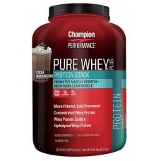 Champion Nutrition Pure Whey® Plus Cocoa Mochaccino -- 4.8 lbs