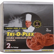 Chef Jay's Tri-O-Plex Cookies Double Chocolate Chip -- 12 Cookies