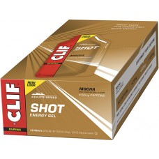 Clif Shot® Energy Gel Mocha -- 24 Packets