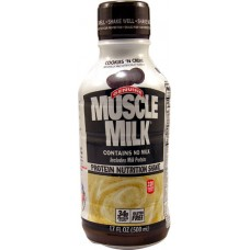 CytoSport Muscle Milk® Protein Nutritional Shake Cookies 'N Créme -- 17 fl oz