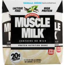 CytoSport Muscle Milk® RTD Nutritional Shake Vanilla Creme -- 4 Containers