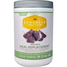 Designer Protein Sunshine Protein Meal Replacement Chocolate -- 1.19 lbs