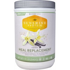 Designer Protein Sunshine Protein Meal Replacement Vanilla -- 1.19 lbs