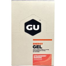 GU Energy Labs Energy Gel® Strawberry Banana -- 24 Packets