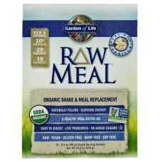 Garden of Life Organic RAW Meal™ Vanilla -- 10 Packets