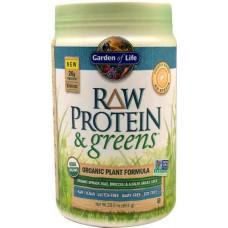 Garden of Life RAW Protein & Greens™ Organic Powder Lightly Sweet -- 23 oz