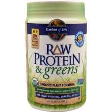 Garden of Life RAW Protein & Greens™ Organic Powder Real Raw Vanilla -- 19.3 oz