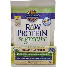 Garden of Life RAW Protein & Greens™ Real Raw Vanilla -- 10 Packets
