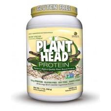 Genceutic Naturals Plant Head Protein Vanilla -- 1.7 lbs