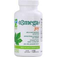Genuine Health O3Mega plus™ Joy -- 120 Softgels