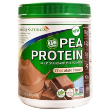 Growing Naturals Pea Protein Chocolate -- 15.8 oz