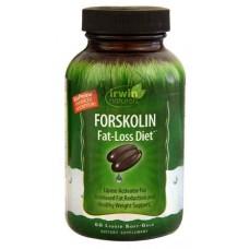 Irwin Naturals Forskolin Fat Loss Diet -- 60 Liquid Softgels