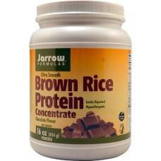 Jarrow Formulas Brown Rice Protein Concentrate Chocolate -- 16 oz