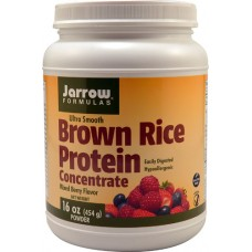 Jarrow Formulas Brown Rice Protein Concentrate Mixed Berry -- 16 oz