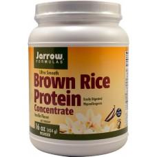 Jarrow Formulas Brown Rice Protein Concentrate Vanilla -- 16 oz