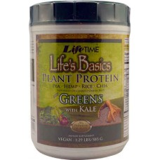 Lifetime Life's Basics® Plant Protein Plus Greens with Kale -- 1.29 lbs