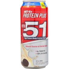 MET-Rx Protein Plus RTD 51 Cookies & Creme -- 15 fl oz