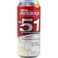 MET-Rx Protein Plus RTD 51 Creamy Vanilla -- 15 fl oz