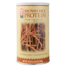 MLO Brown Rice Protein Powder -- 24 oz