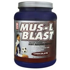 MLO MUS-L BLAST Protein Powder Chocolate -- 47 oz