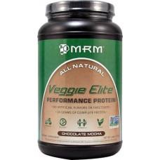 MRM Veggie Elite Performance Protein Chocolate Mocha -- 2.4 lbs