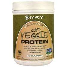 MRM Veggie Protein Unflavored -- 19.8 oz