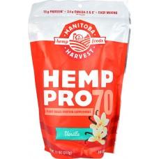 Manitoba Harvest Hemp Pro 70® Vanilla -- 11 oz
