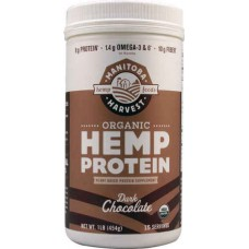 Manitoba Harvest Organic Hemp Protein Dark Chocolate -- 1 lb