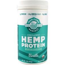 Manitoba Harvest Organic Hemp Protein Vanilla -- 1 lb