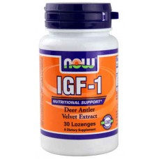 NOW Foods IGF-1 Nutritional Support -- 30 Lozenges
