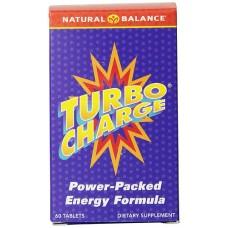 Natural Balance Turbo Charge® Energy Formula -- 60 Tablets
