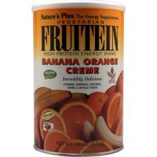 Nature's Plus Fruitein® High Protein Vegetarian Energy Shake Banana Orange Creme -- 1.4 lbs