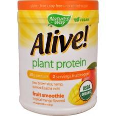Nature's Way Alive!® Plant Protein Fruit Smoothie Tropical Mango -- 14.8 oz
