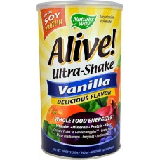 Nature's Way Alive® Soy Protein Ultra-Shake® Vanilla -- 20 oz